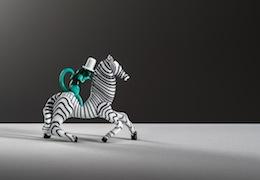 19_Zebra-con-scimmietta-in-vetro-policromo-opaco-1948-49