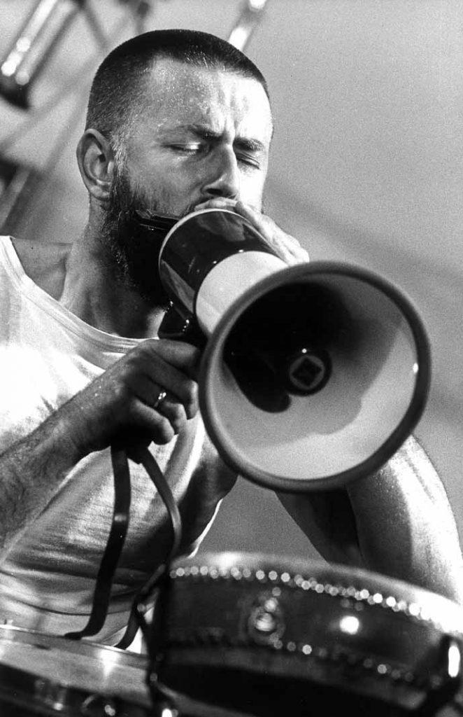 Han Bennink, © Roberto Masotti, 1978, Moers Jazz Festival